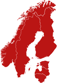 Nordic Cinema Group Map